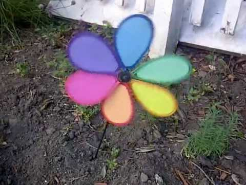 Garden Pinwheel Colorful Energies at Work YouTube