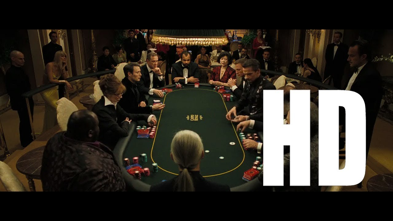 Casino Royale - Poker Scene [HD Clip] - YouTube
