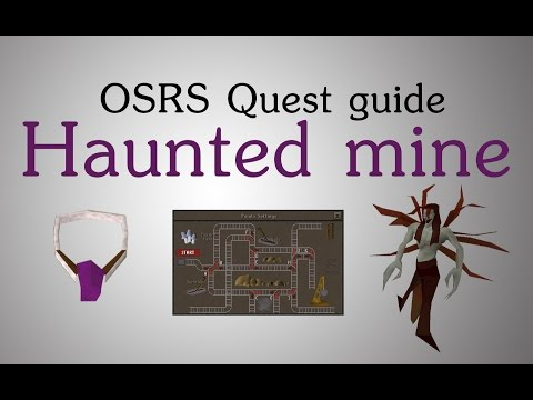 [OSRS] Haunted mine quest guide