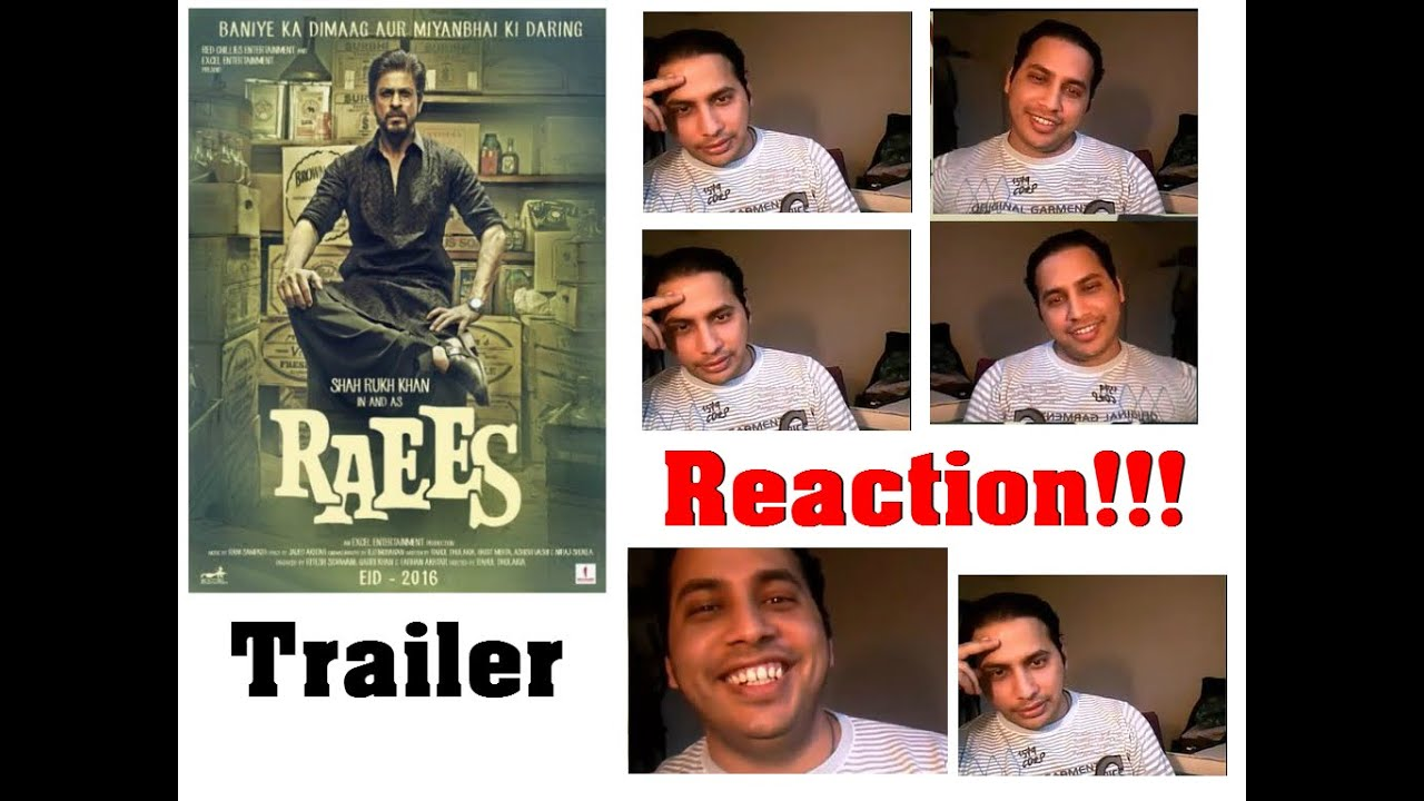 Raees Movie Official Teaser Trailer #1 REACTION & REVIEW ShahRukh Khan and Nawazuddin Siddiqui