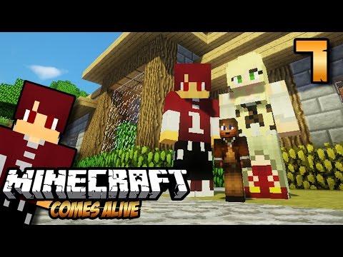 ANAK PERTAMA ISAN & LARRY ! - Minecraft Comes Alive #7
