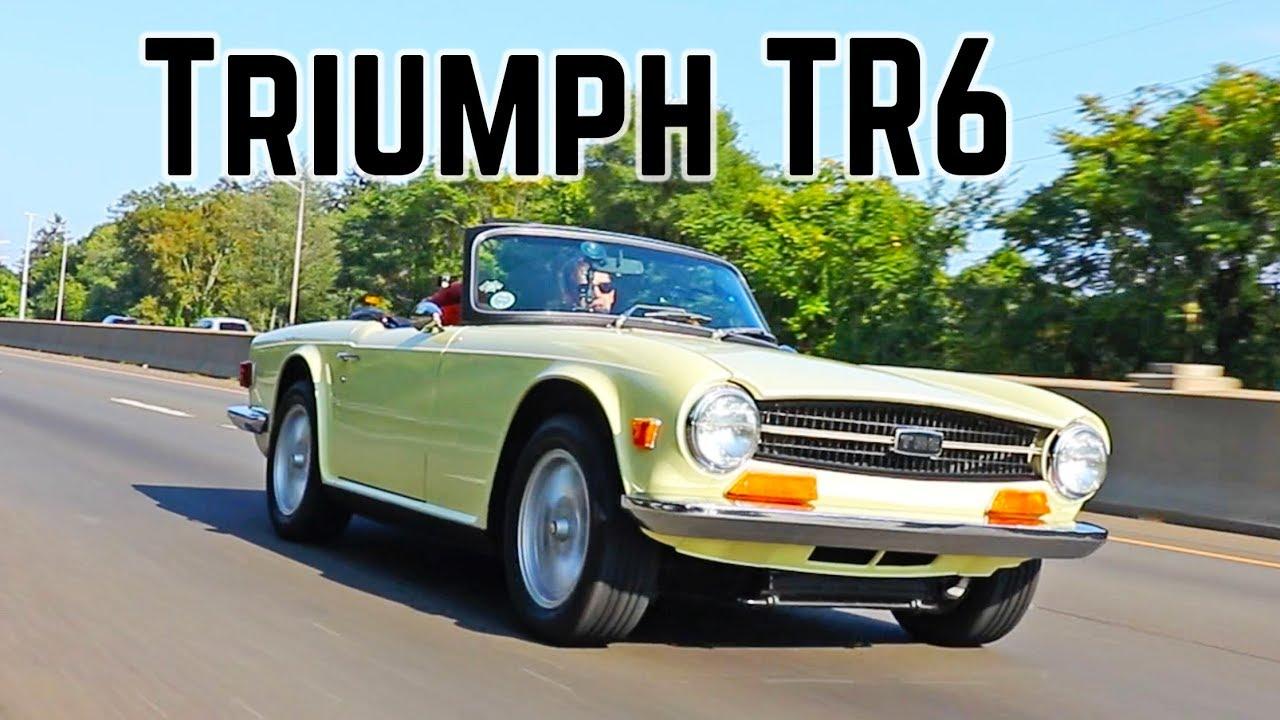 Triumph TR6 - YouTube
