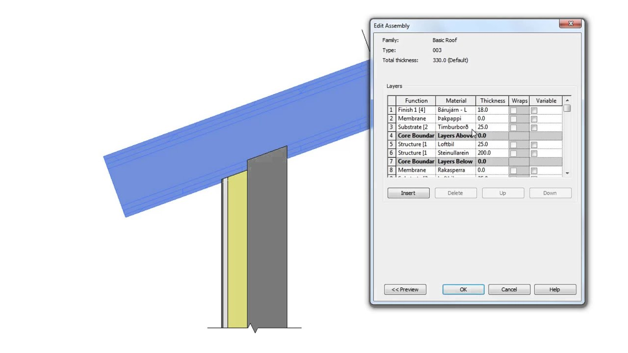 Revit 2011 Wall Connection To Roof Youtube