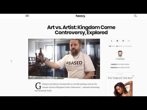 My Hot Take On The Kingdom Come: Deliverance Controversy.