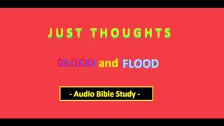 Just Thoughts  Blood and Flood  Audio Bible Study 2015