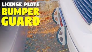 License Plate Bumper Guard | 4Bumpers