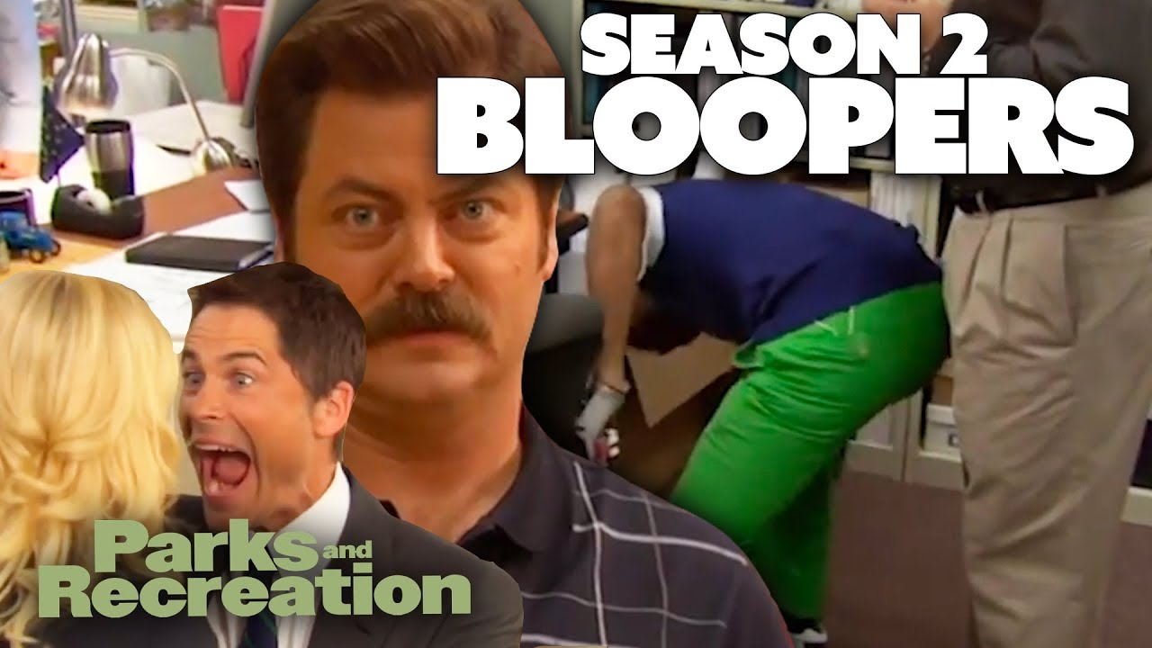 Download Season 2 BLOOPERS | Parks and Recreation | Comedy Bites