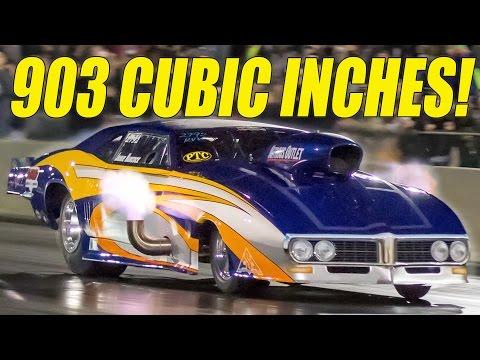 FLAMETHROWER Firebird - 903 Cubic Inches!
