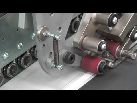 Double sided tape applicator for long runs A/13