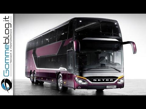 Setra S 531 DT double-decker bus of the TopClass 500