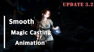 SKYRIM Smooth Magic Casting An…