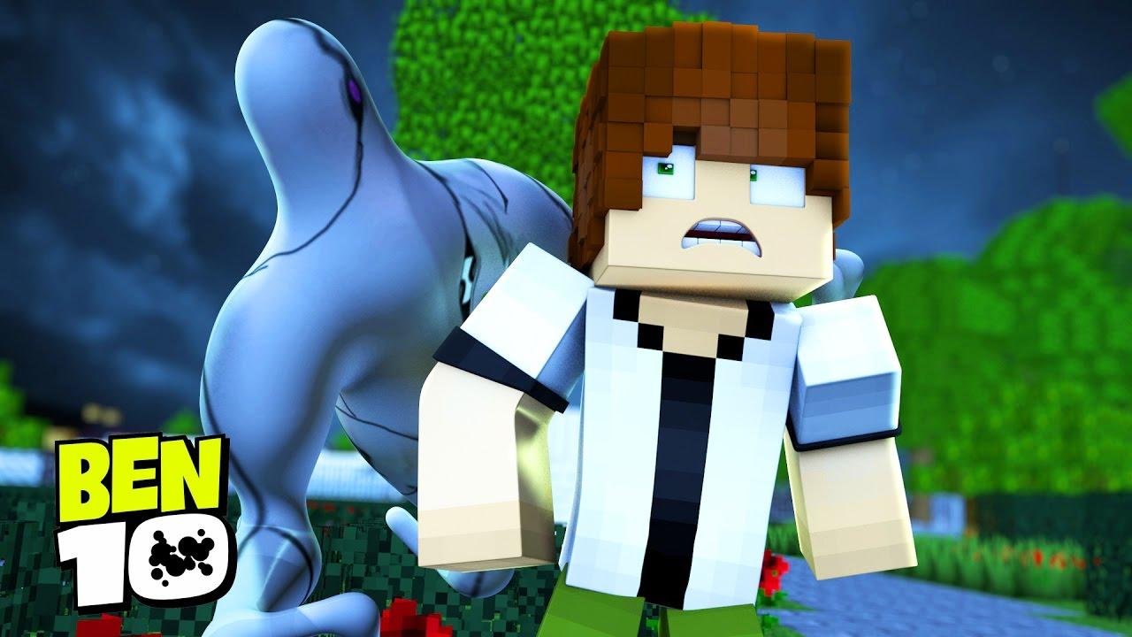 793cda45507 Minecraft BEN 10   FANTASMÁTICO APARECE !!!  11 ( Ben 10 In ...