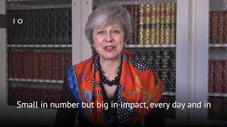 Theresa May Thai Pongal Message