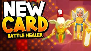"New Card ""BATTLE HEALER"" & ""CARD LVL BOOST"" Gameplay & Chat!"