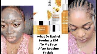 Best Facials At Home | Dr Rashel Vitamin c Products How I Got Rid Of STUBBORN ACNE & DARK SPOTS
