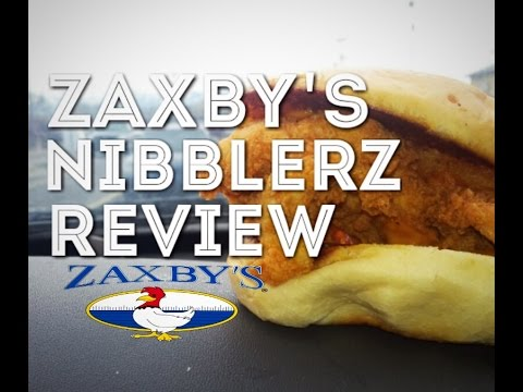 Zaxby's Chicken Nibblerz Food Review! So Good!