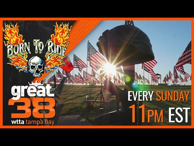 This Week on Born To Ride TV Episode #1268 - Buffalo Chip Flag Raising, Rosie The Riveter Ride