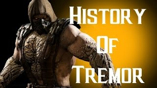 History Of Tremor Mortal Kombat X