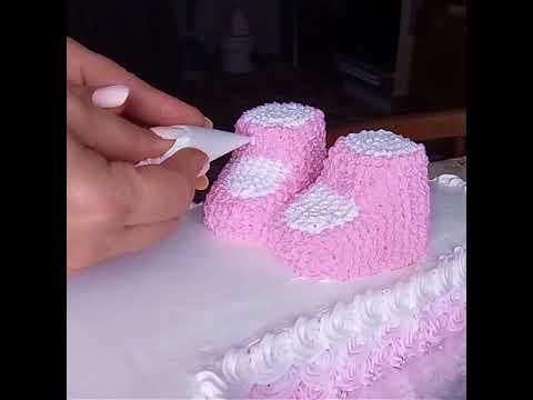 Как украсить торт для девочки на 1 годик