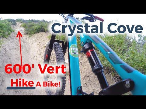 Forced 600' Hike-a-bike Crystal Cove MTB