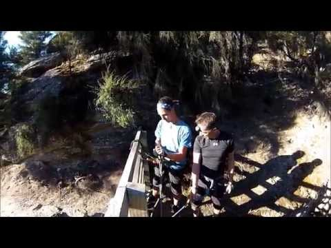 Abseiling lost goldmining shafts in Bendigo