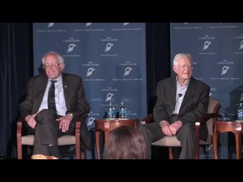 President Carter & Bernie Sanders 5-8-17