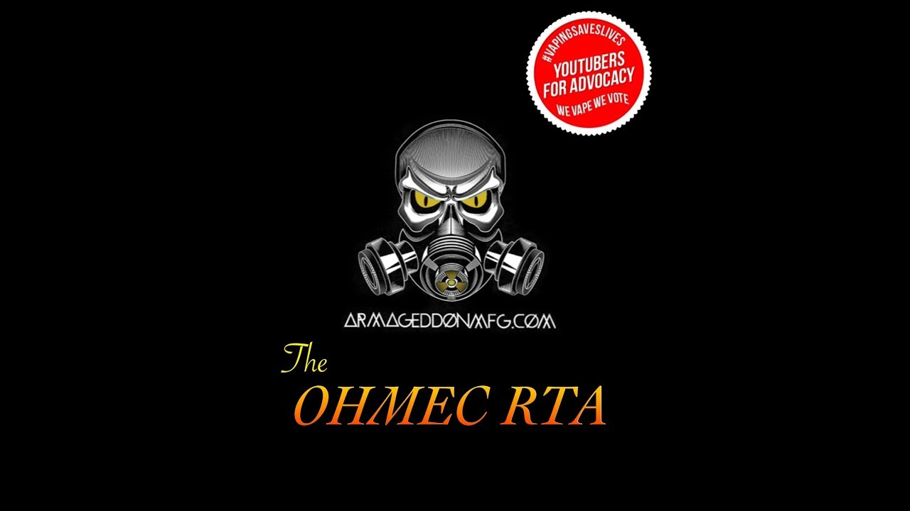 The ohmec rta by armageddon mfg special coupon code youtube the ohmec rta by armageddon mfg special coupon code fandeluxe Image collections
