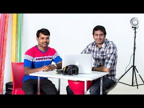 Satish  Bhalerao and Maneesh Saxena fashion photographer talk