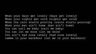 Nate Dogg - Backdoor (lyrics)