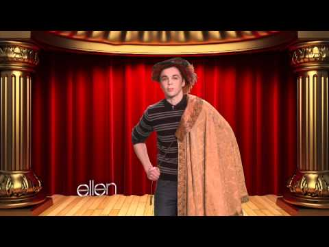Ellen Helps Jim Parsons Prep for Broadway!