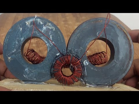 How to Make 100% Free Energy Generator Device with Magnets using Copper Wire winding 2018