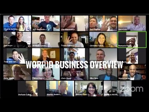 WOR(l)D Business Overview - The MOST Online VIRAL Webinar!!!