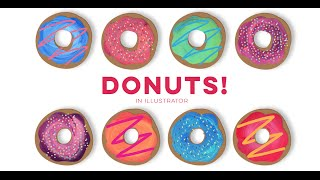How to Create Delicious Donuts in Illustrator