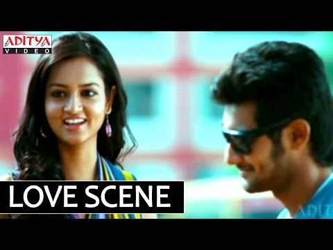 Lovely Telugu Movie Love Scene On Bike - Aadhi, Shanvi