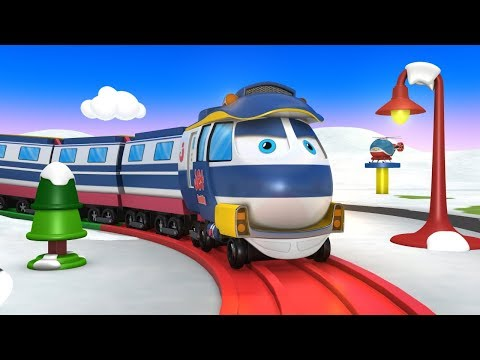 Choo Choo Train – Trains For Kids – Trains For Toddlers – Toy Factory Train – Thomas The Train – JCB