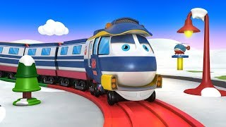 Choo Choo Train - Trains For Kids - Trains For Toddlers - Toy Factory Train - Thomas The Train - JCB