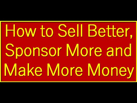 How to sell money