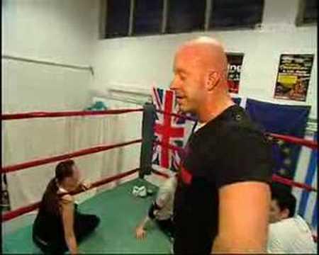 Wrestling-Training In Hamburg Mit Karsten Kretschmer