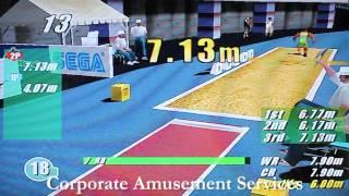Sega Virtua Athletics Sports Game for Hire - www.amusements.co.uk