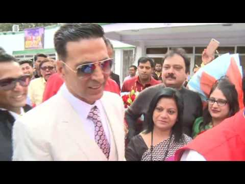 Bollywood Superstar Akshay Kumar visited Sulabh - 03 March, 2017