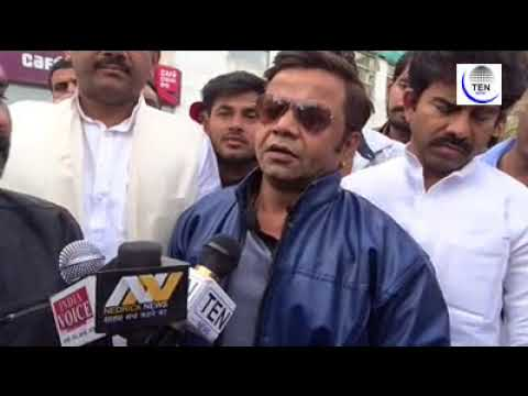 Actor Rajpal Yadav visits Noida Shootout Victim Jitendra in Hospital