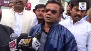 Actor Rajpal Yadav visits Noida Shootout Victim Jitendra in Hospital