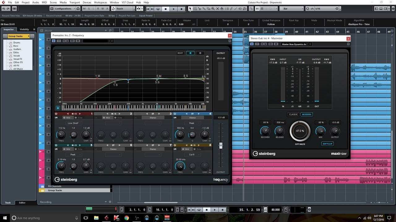 cubase pro 9 review great new plugins and features youtube. Black Bedroom Furniture Sets. Home Design Ideas