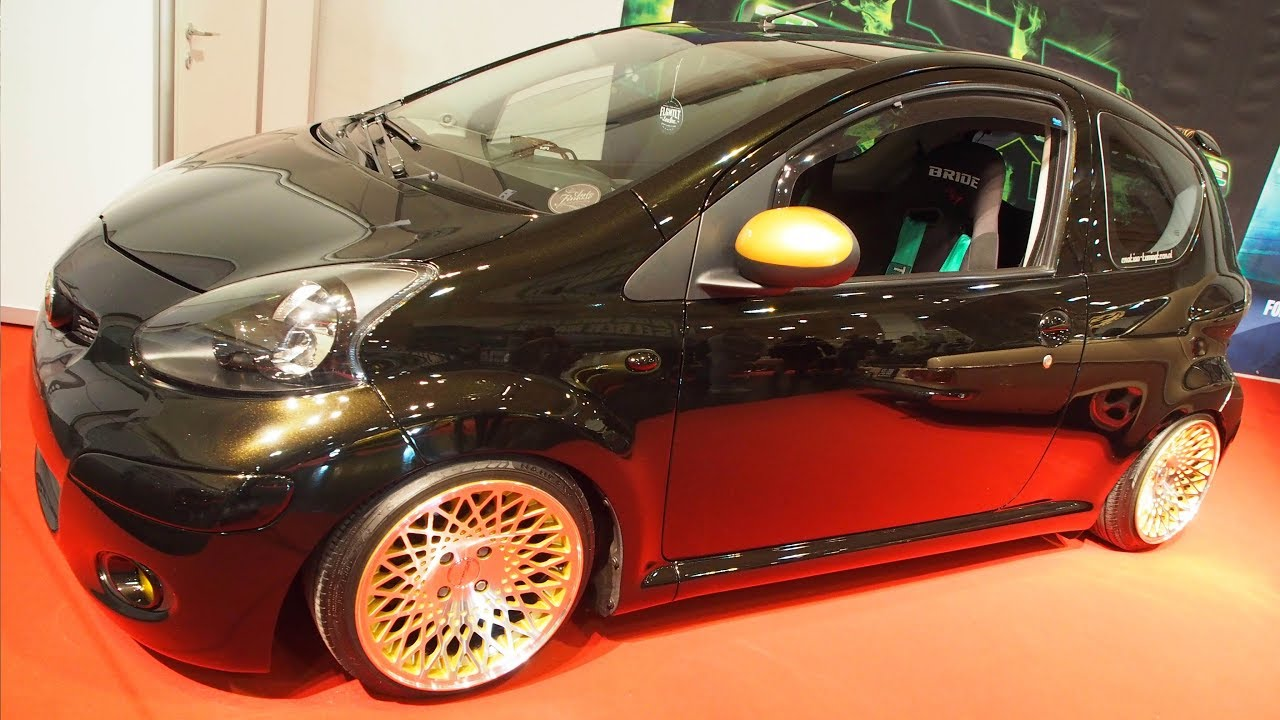 toyota aygo 2006 tuning 1 0 12v 80 hp stance wheels encore. Black Bedroom Furniture Sets. Home Design Ideas