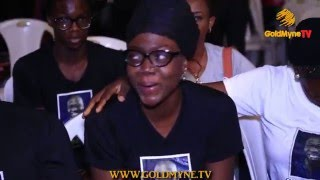 SERVICE OF SONGS FOR LATE NOMORELOSS... RUGGEDMAN, WEIRD MC, CHARLY BOY, DADDY SHOWKEY ATTEND