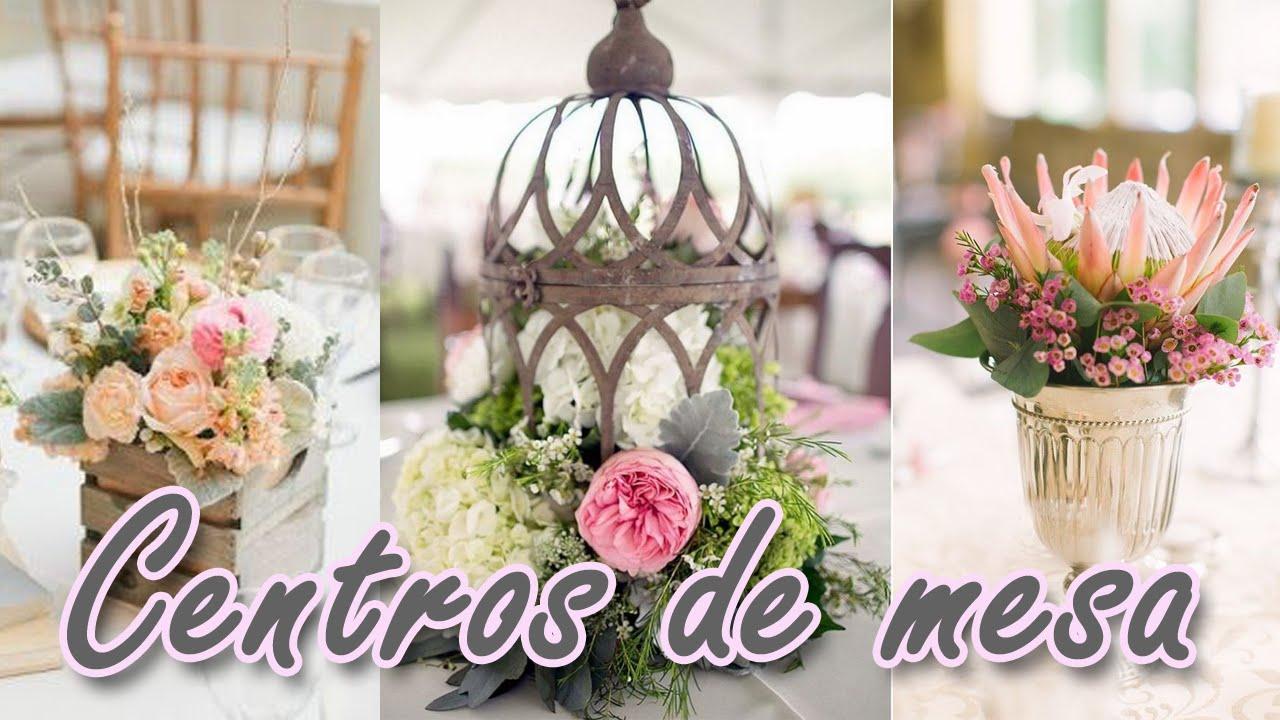 40 ideas de centros de mesa muy lindos para tu boda hd youtube - Precios de centros de mesa para boda ...