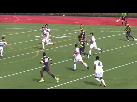 UMass Boston Men's Soccer vs. U. Southern Maine (10/7/17) Highlights