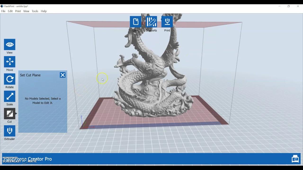 View layers of 3D models in Flashprint Slicer | My3D Guru