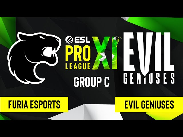 CS:GO - Evil Geniuses vs. FURIA Esports [Mirage] Map 2 - ESL Pro League Season 11 - Group C