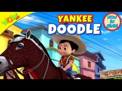 Yankee Doodle | 3D animated kids songs | Hindi Songs for Children | Vir | WowKidz